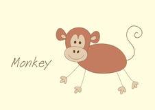 Petit singe illustration libre de droits