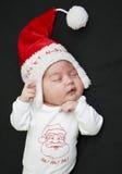 Petit sommeil du père noël Image stock