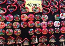 Petit souvenir typique hongrois Images stock