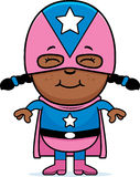 Petit superhero illustration stock