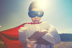 Petit superhero Image stock