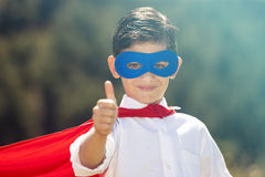 Petit superhero Photos libres de droits