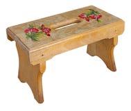 petit tabouret en bois photos stock inscription gratuite. Black Bedroom Furniture Sets. Home Design Ideas