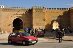 Petit Taxi in Fez, Marokko Stock Afbeelding