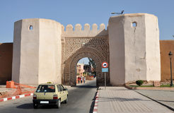 Petit Taxi in Marrakesh Royalty Free Stock Photo
