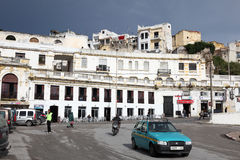 Petit Taxi in Tangier, Morocco Stock Photography