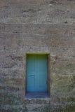 Petit Teal Door Photo libre de droits