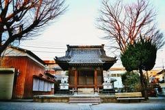 Petit temple à Tokyo Images libres de droits