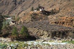 Petit temple sur la montagne Photo libre de droits