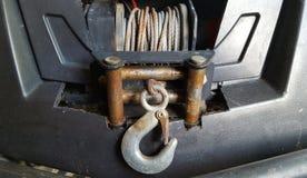 Petit treuil de voiture photo stock