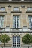 petit trianon versailles för slott royaltyfri bild