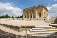 Petit Trianon of Versailles Palace Park. The Petit Trianon , small castle built by Gabriel for Louis XV Royalty Free Stock Photography