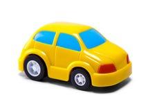 Petit véhicule jaune Image libre de droits
