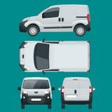 Petit Van Car Voiture d'isolement, calibre pour la voiture stigmatisant et faire de la publicité Photographie stock