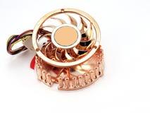 Petit ventilateur pour le microprocesseur photographie stock libre de droits