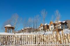 Petit village de Chine du Nord Photographie stock libre de droits