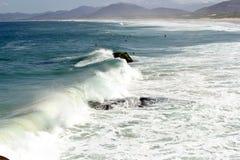 Petit wavesin par jour ensoleillé Photo stock