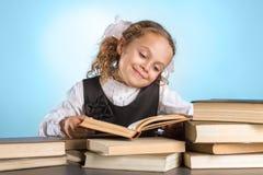 Petite écolière Image stock