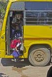 Petite écolière indienne Image stock
