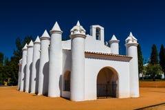 Petite église dans Beja, Portugal Photos stock