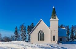 Petite église de village Photos stock