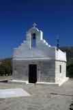 Petite église - Paros Photo libre de droits