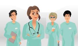 Petite équipe médicale Photo libre de droits