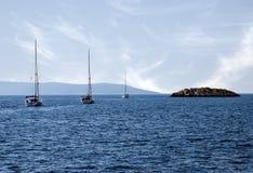Petite île Photographie stock libre de droits