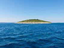 Petite île dans Kornati Croatie Photo libre de droits