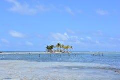 Petite île en archipel de San Blas, ¡ de Panamà Images stock