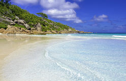 Petite anse,seychelles Royalty Free Stock Photos