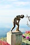 Petite Baigneuse statue, Lake Geneva, Switzerland Royalty Free Stock Photos