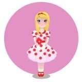 Petite ballerine illustration stock