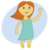 Petite ballerine illustration de vecteur