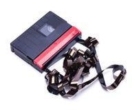 Petite bande de caméscope cassée photographie stock