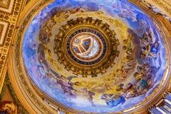 Petite basilique Vatican Rome Italie du ` s de St Peter de dôme Image libre de droits