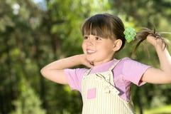 Petite belle fille Image libre de droits