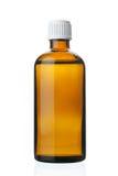 Petite bouteille avec la drogue Image stock