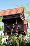 Petite cabane dans un arbre mignonne photo stock