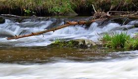 Petite cascade Photo libre de droits