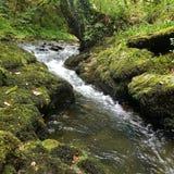 Petite cascade anglaise Image libre de droits