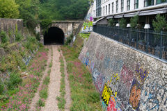 The Petite Ceinture at Paris, France Stock Photos