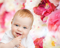 Petite chéri de sourire Photo libre de droits