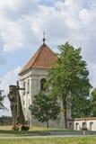 Petite chapelle catholique en Pologne Photo libre de droits