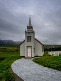 Petite chapelle en Islande Image stock