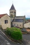 Petite chapelle, ville française médiévale Image libre de droits