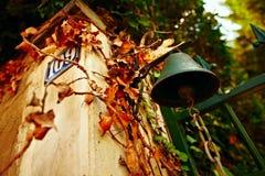 Petite cloche française de campagne Photographie stock