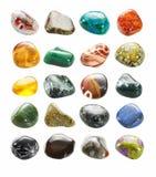 Petite collection dégringolée de pierres Photographie stock