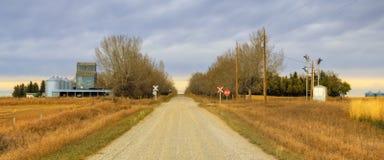 Petite communauté d'exploitation agricole de HDR Photographie stock libre de droits