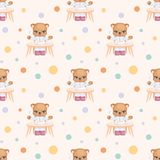 Petite consommation de Teddy Bear Images stock